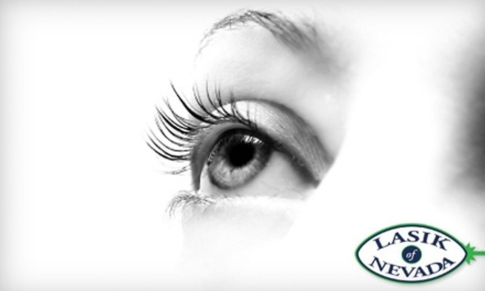 LASIK of Nevada - Multiple Locations: $2,100 for LASIK Eye Procedure at LASIK of Nevada ($4,500 Value)
