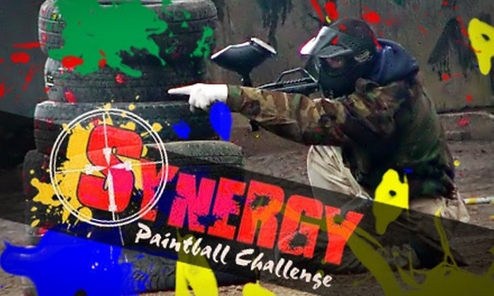 Synergy Paintball Challenge  - Grafton: $23 for One Commando Equipment-and-Admission Package at Synergy Paintball Challenge
