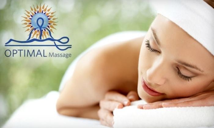 Optimal Massage - Philadelphia: $49 Hot-Stone Massage or $42 Deep-Tissue Corrective Massage at Optimal Massage. Choose Between Two Options.