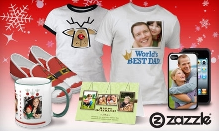Zazzle.com: $25 for $50 Worth of Customizable Gifts from Zazzle.com
