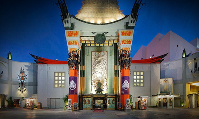 Grauman's Chinese Theatre and Chinese 6 Theatres - Multiple Locations: $18 for a Movie Outing for Two with Popcorn and Soda at Grauman's Chinese Theatre and Chinese 6 Theatres in Hollywood (Up to $44.45 Value)