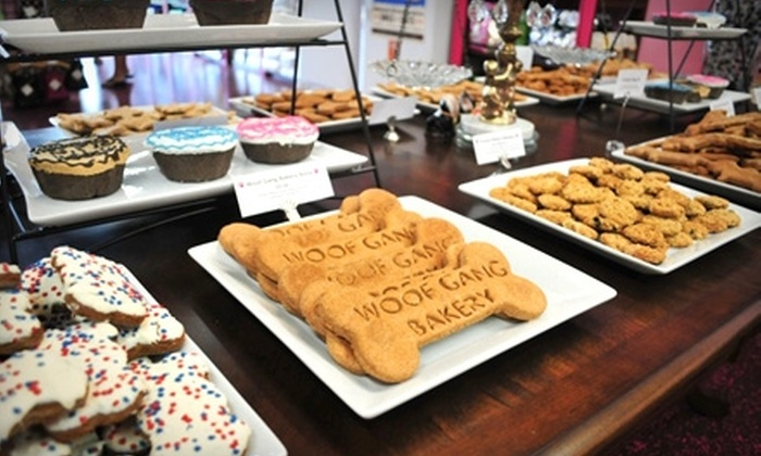 Woof Gang Bakery - New Port Richey: $10 for $20 Worth of Dog Treats and Merchandise at Woof Gang Bakery in Lutz