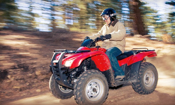 Rent2Ride - 4: Half-Day or All-Day ATV Rental for Two or All-Day UTV Rental for Two from Rent2Ride (Half Off)