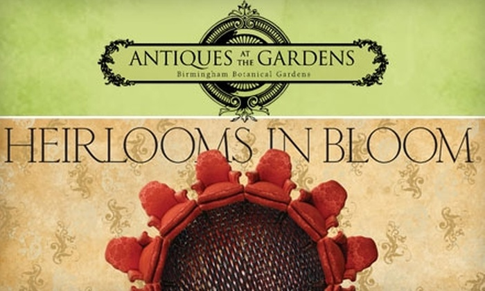 Birmingham Botanical Gardens - Redmont Park: $5 General Admission to the Antiques at the Gardens Event at the Birmingham Botanical Gardens on October 1–3 ($10 Value)