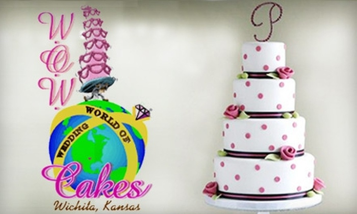 W.O.W. Cakes - Benjamin Hills: $15 for an 8-Inch Double-Layer Round Cake from W.O.W. Cakes ($30 Value)