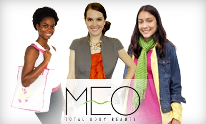 MEO Total Body Beauty - Midtown Center: $149 for an Adult Makeover Party or Youth Charm Party from MEO Total Body Beauty