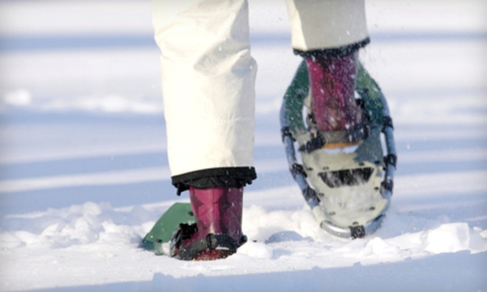 Tennis on the Lake - North Side: Snowshoe Rental for Two or Snowshoe Rental and Lesson for Two from Tennis on the Lake (Half Off)