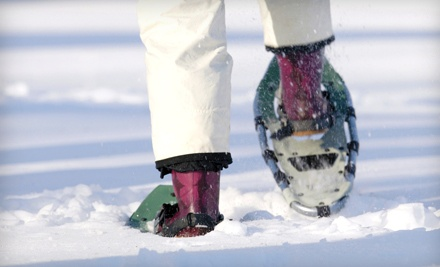 2-Hour Snowshoe Rental for 2 People (a $60 value) - Tennis on the Lake in Chicago