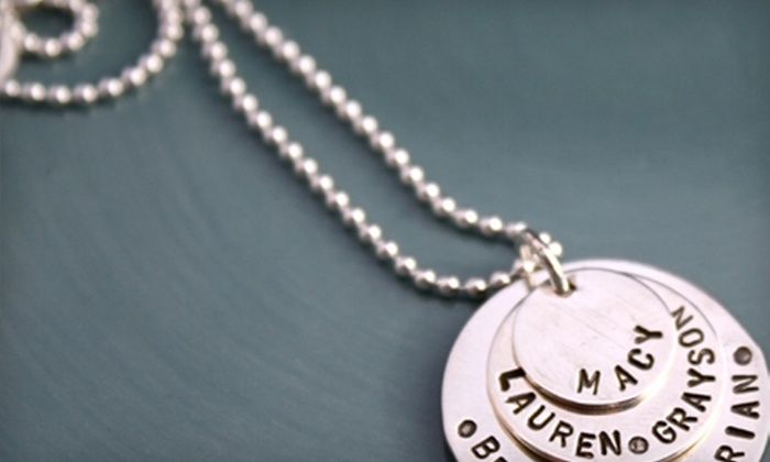 i declare! - Jackson: $30 for $60 Worth of Custom-Made Silver Charms from i declare!