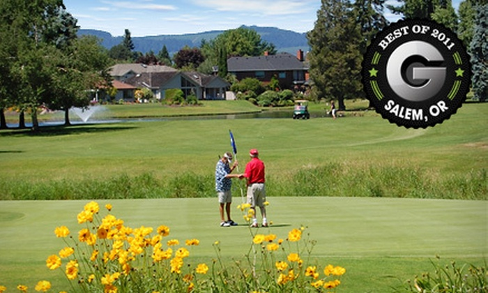 McNary Golf Club - Keizer: 18-Hole Golf Outing for One or Four with Cart Rental at McNary Golf Club in Keizer (Up to 55% Off)