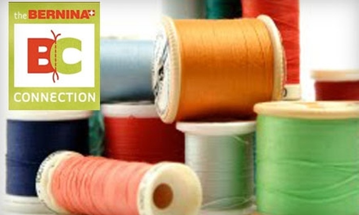The Bernina Connection - Camelback East: $20 for $40 Worth of Sewing and Quilting Classes at The Bernina Connection
