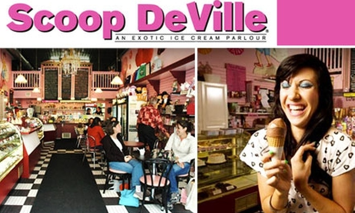 Scoop DeVille - Center City West: $7 for $14 Worth of Ice Cream and Yogurt at Scoop DeVille
