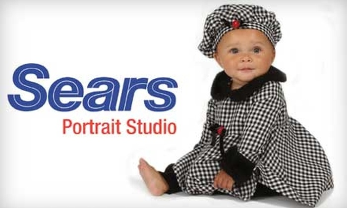 Sears Portrait Studio - Chicago: $20 for a Holiday Bundle at Sears Portrait Studio ($134.93 Total Value)