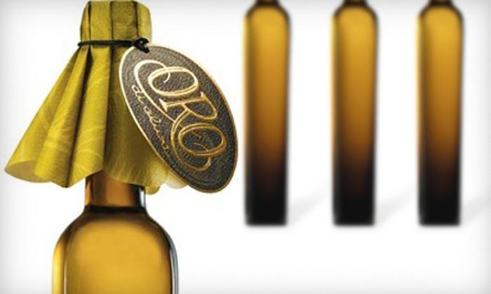 Oro di Oliva - Multiple Locations: $10 for $20 Worth of Olive Oil and Vinegar at Oro di Oliva