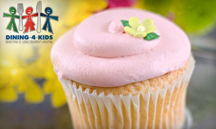 The Cup - Edwardsville: $10 for $20 Worth of Cupcakes at The Cup. 25% of Proceeds go to St. Louis Children's Hospital.