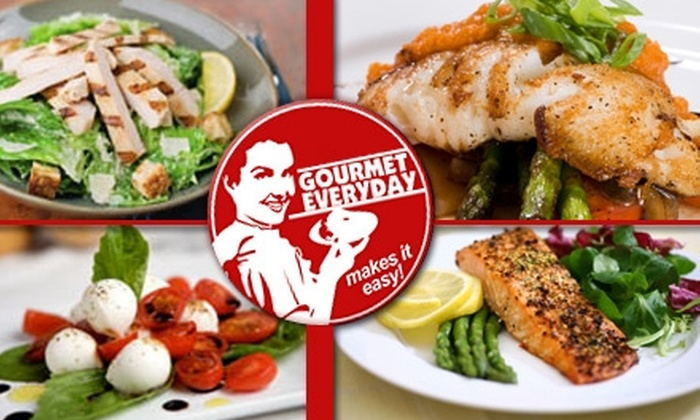 Gourmet Everyday - Detroit: $33 for Two Days' Worth of Nutritious Meals from Gourmet Everyday ($86 Value)