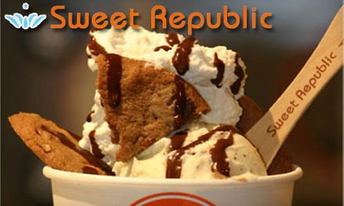 Sweet Republic - Central Scottsdale: $5 for $10 Worth of Artisan Ice Cream and Desserts at Sweet Republic in Scottsdale