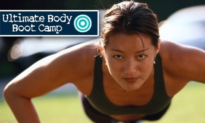 Ultimate Body Boot Camp - Multiple Locations: $29 for 12 One-Hour Boot-Camp Sessions from Ultimate Body Boot Camp ($249 Value)