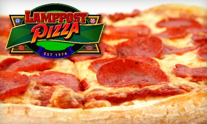 Lamppost Pizza - Southeast Reno: $10 for $20 Worth of Pizza and More at Lamppost Pizza Reno
