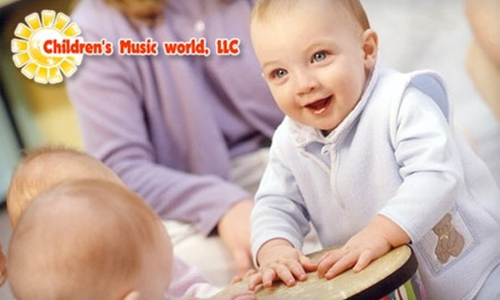 Children's Music World - Youngstown: $40 for Eight-Week Family Class at Children's Music World (Up to $160 Value)