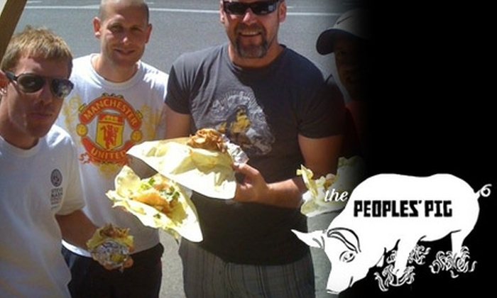 The People's Pig - Downtown: $8 for $16 Worth of Fine Pork Sandwiches from The People's Pig