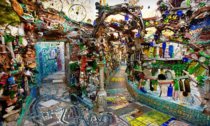Philadelphia's Magic Gardens - Washington Square West: Art Tour and Souvenir Magnets for Two or Four at Philadelphia's Magic Gardens (Up to 57% Off)
