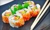 Tsukiji Bar & Sushi Restaurant - Mill Valley: $25 for $50 Worth of Japanese Fare and Drinks at Tsukiji Sushi Bar & Restaurant in Mill Valley