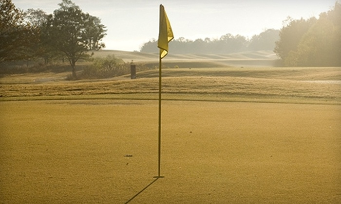 Mallard Pointe Golf Course - Sardis: $45 for Golf for Two, Cart Rental, and Two Buckets of Range Balls at Mallard Pointe Golf Course in Sardis (Up to $92 Value)