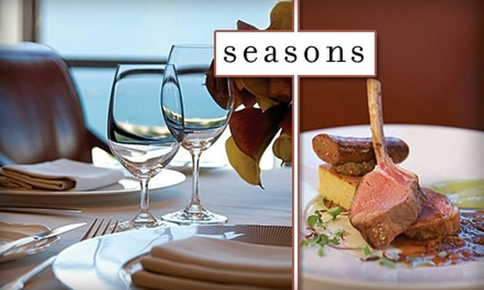 Seasons Restaurant - Near North Side: $40 for $85 Worth of Fine Dining at Seasons Restaurant in the Four Seasons Hotel