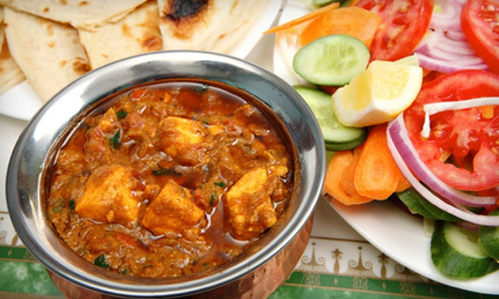 Royal Taj Fine Indian Cuisine - Fresno: $10 for $20 Worth of Indian Dinner Fare at Royal Taj Fine Indian Cuisine