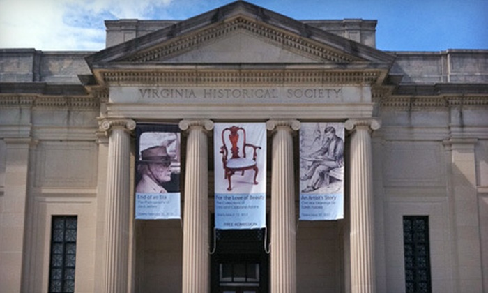 Virginia Historical Society - The Museum District: Individual Plus One or Benefactor Membership to Virginia Historical Society (Half Off)