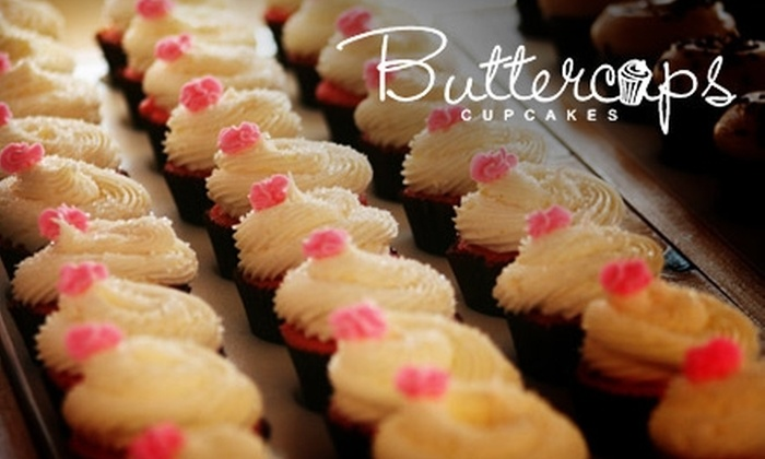 Buttercups Cupcakes - Multiple Locations: $10 for $20 Worth of Cupcakes at Buttercups Cupcakes