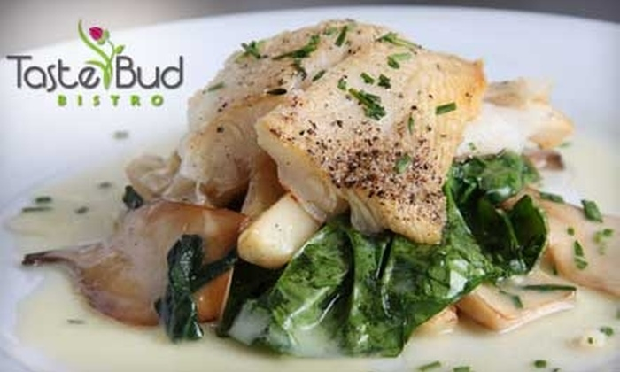 Taste Bud Bistro - City Centre: $15 for $30 Worth of Locally Sourced Cuisine and Drinks at Taste Bud Bistro