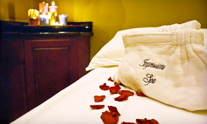Impressions Spa - Jamaica: Facial or Massage or Spa Package with Both at Impressions Spa in Queens (Up to 67% Off)