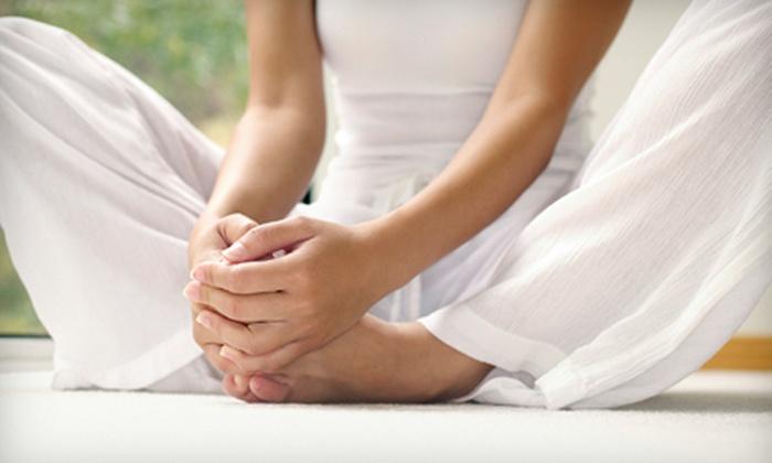Inner Peace Yoga - Memorial: Six Yoga Classes or One Month of Unlimited Yoga Classes at Inner Peace Yoga