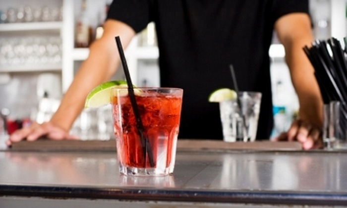 National Bartenders School - Woodbridge: Cocktail and Wine Mixology Course for One, Two, or Four at National Bartenders School in Woodbridge (Up to 66% Off)