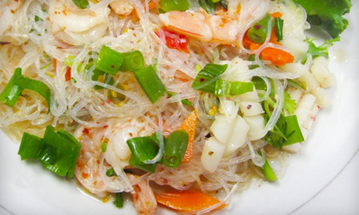 Pho Thai-Lao Kitchen - Maywood: Thai-Lao Dinner for Two or Four Friday–Saturday or Sunday–Thursday at Pho Thai-Lao Kitchen in Maywood (Up to 52% Off)