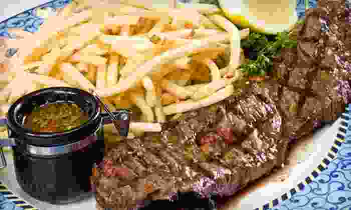 Westerkamps Steakhouse and Meat Market - Globeville: $15 for a Steak Lunch for Two with French Fries and Texas Toast at Westerkamps Steakhouse and Meat Market ($29.98 Value)