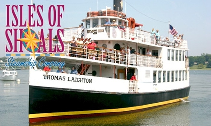 Isles of Shoals Steamship Company - Portsmouth: $15 for a Historic Isles of Shoals & Portsmouth Harbor Boat Tour with Isles of Shoals Steamship Company (Up to $27 Value)