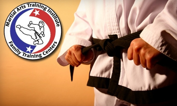 Martial Arts Training Institute - Multiple Locations: $39 For a 30-Day Trial Membership at Martial Arts Training Institute ($100 Value)