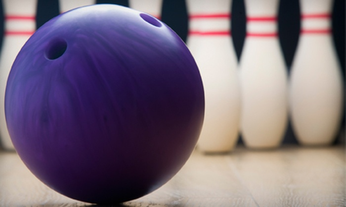 Pampa Lanes and Fras American Grill - Northwest Warren: $14 for Bowling and Pizza Outing for Two at Pampa Lanes and Fras American Grill in Warren (Up to $28.30 Value)