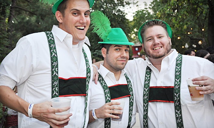 Oktoberfest  - Southwestern Sacramento: $15 for an Oktoberfest Party at Fairytale Town from Active 20-30 Sacramento No. 1 Club (Up to $30 Value)