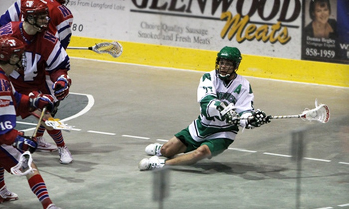 Victoria Shamrocks - Victoria: $8 for a General Admission to a Victoria Shamrocks Lacrosse Game at Bear Mountain Arena on July 22 or 29 (Up to $17.50 Value)
