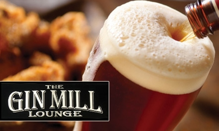 The Gin Mill Lounge - Fort Wayne: $7 for $15 Worth of Bar Fare and Drinks at the Gin Mill Lounge
