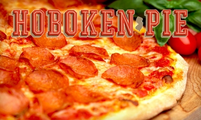 """Hoboken Pie - Downtown: $7 for a 14"""" One-Topping Pizza at Hoboken Pie ($14 Value)"""
