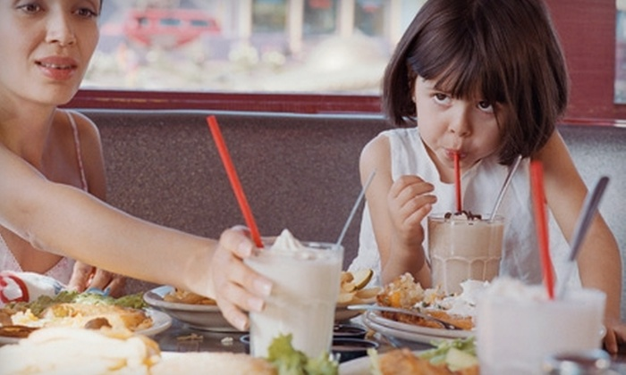 Hollywood Diner - Sherman: $10 for $20 Worth of Burgers, Shakes & More at Hollywood Diner in Carter Lake, IA