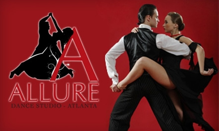 Allure Dance Studio - Cumberland: $35 for One Month of Ballroom Dance Classes at Allure Dance Studio (Up to $120 Value)