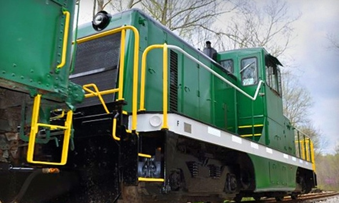 Indiana Railway Museum - Jackson: $8 for One Adult Ticket to French Lick Scenic Railway at the Indiana Railway Museum ($16 Value). Choose from Two Dates.