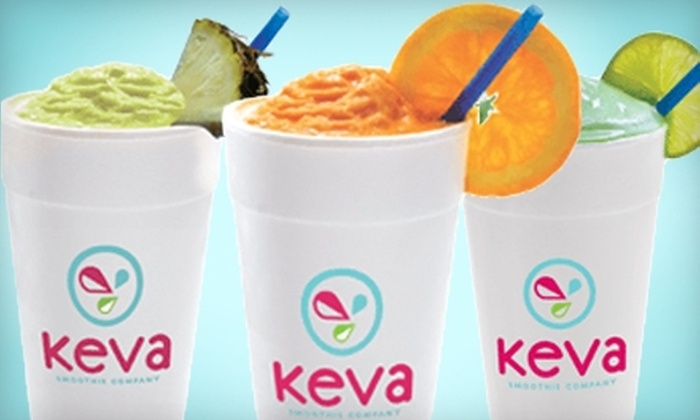 Keva Smoothie Company - Fossil Park: $5 for $10 Worth of Fresh-Fruit Smoothies and Snacks at Keva Smoothie Company