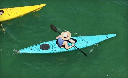 2-Hour Single-Kayak Rental (a $26 value)  - Adventures Boat Rentals in Newport Beach